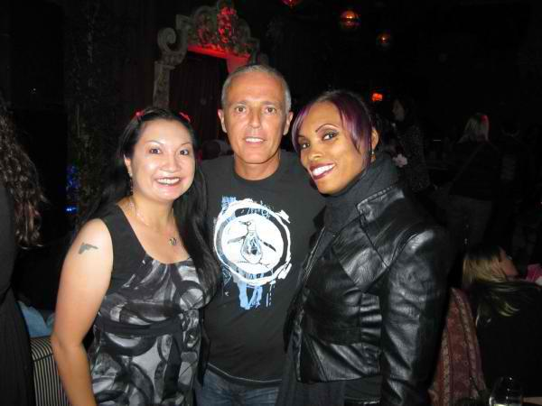 Eileen and Traci D with Curt after the show.