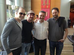 Marcio with members...in Brasil 2012