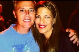Curt Smith and Fan Carri 2012 Orange County California