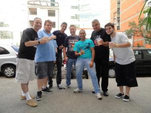 Band Fans!! Our pals in Brasil!