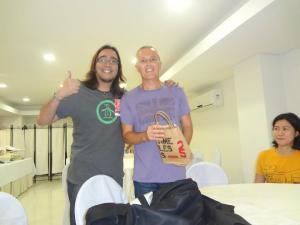 Jan and Curt in Manila 2012
