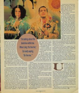 Juli has newspapers, magazines, you name it... about Tears For Fears dating back to day 1.
