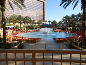 Red Rock Casino Photo -we met them right here at the pool.