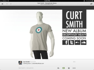 Deceptively Heavy -Curt Smith's latest solo album