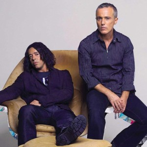 Tears for Fears - Roland (L) Curt Smith (R) #RockLegends #TheBeautifulPeople