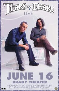 Brady Theatre hosting Tears for Fears in 2015