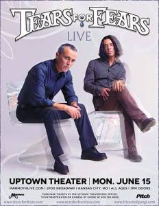 Tears for Fears in Kansas - Summer of TFF -