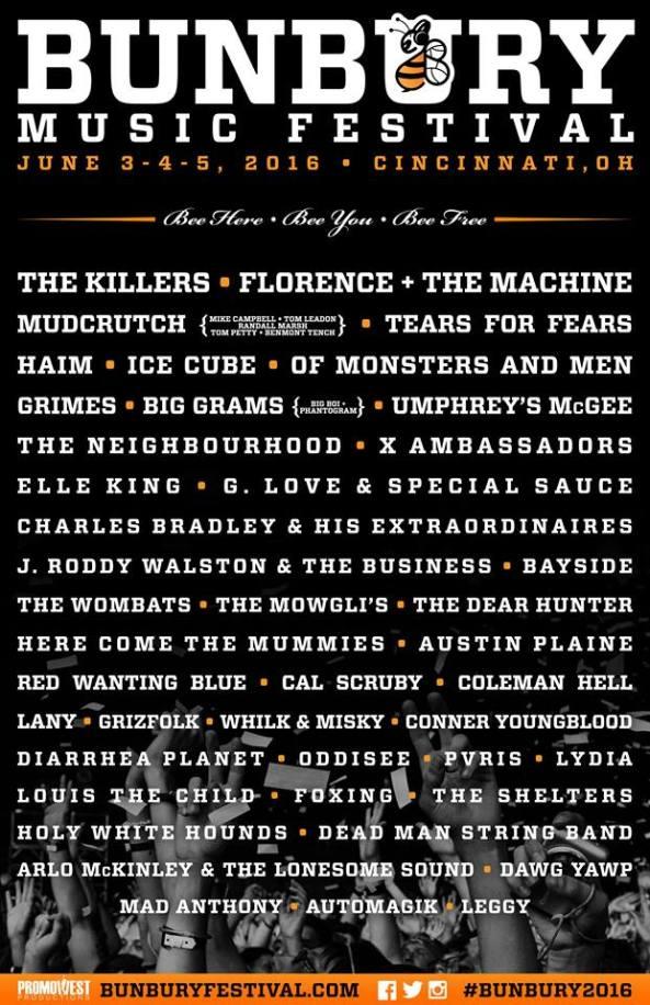 Bunbury-Festival-2016-Lineup-Poster