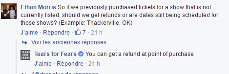 TFF Response