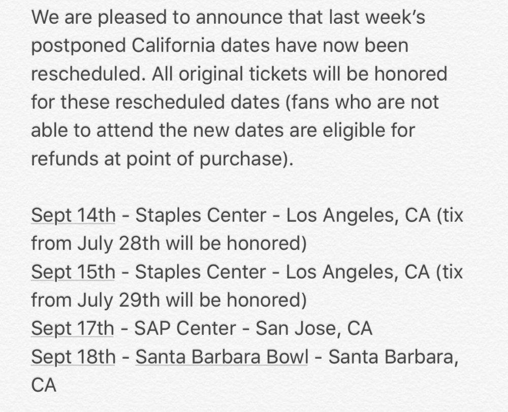 reschedule